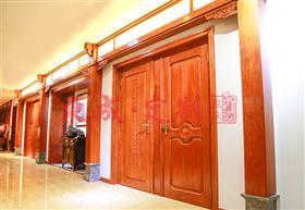东成红木全屋定制:门
