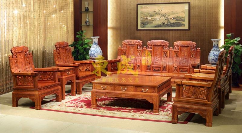 东成红木加大豪华大象沙发