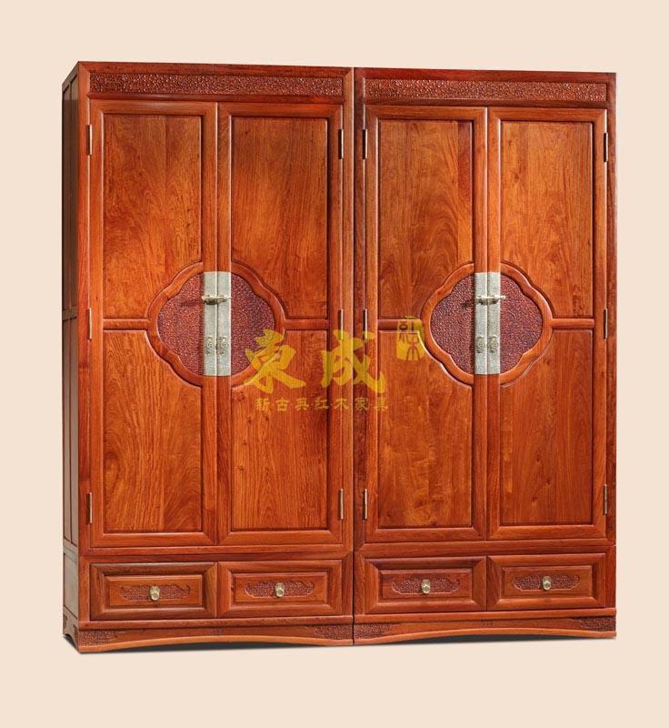 东成红木香茗2号衣柜