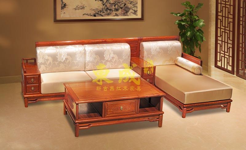 东成红木香茗沙发(3号)
