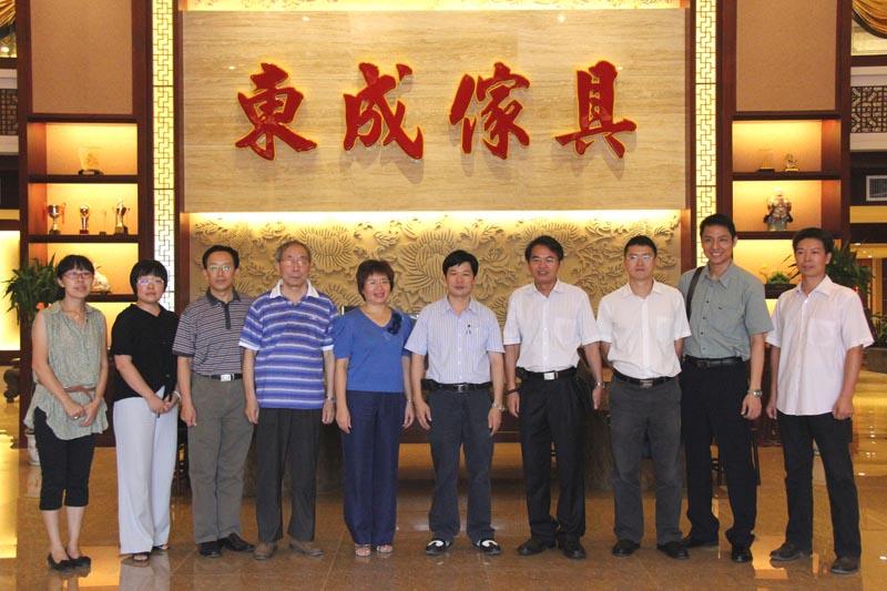 华南农业大学林学院领导莅临我司指导
