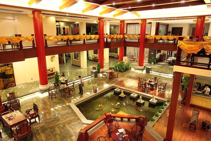 东成红木展厅实景